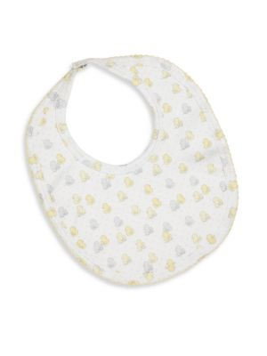 Baby's Pima Cotton Duck-Print Bib