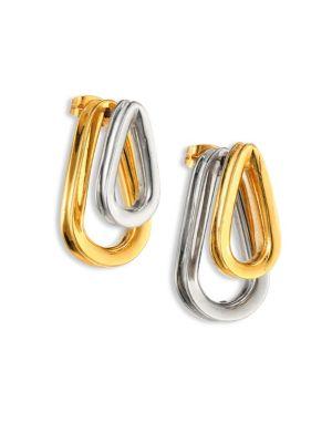 Ellipse Two-Sided Earrings