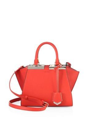 3jours Leather Handbag
