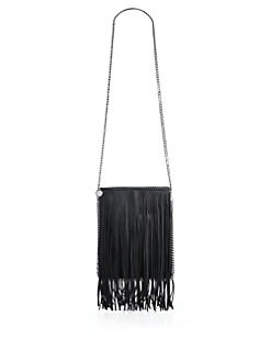 f251be6dc4f0 Stella McCartney Mini Baby Bella Fringed Faux-Suede Tote from Saks ...