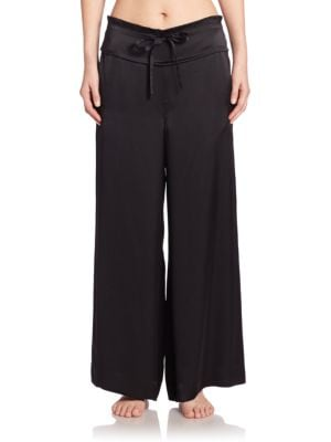 Key Essentials Silk Pants