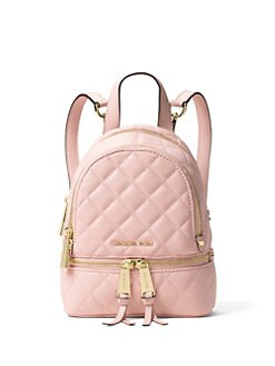 d2856566b0 ... KORS Quilted Leather Backpack MICHAEL MICHAEL KORS Handbags - Handbags  - saks.com Michael Kors Black MK Signature Travel Duffle Luggage Bag 189.99  Ross ...