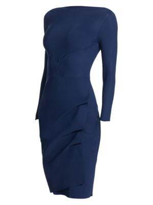 Cassandre Boatneck Sheath Dress