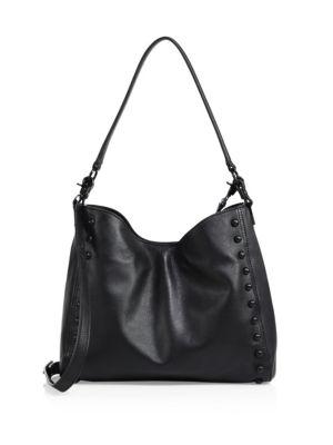 Mini Studded Leather Shoulder Bag