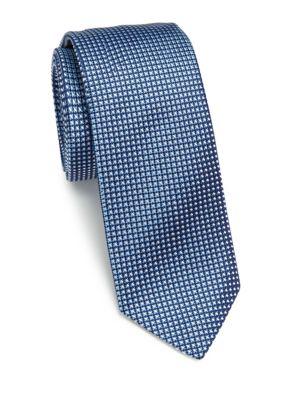 Woven Pattern Silk Tie