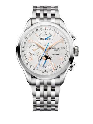Clifton 10279 Chronograph & Complete Calendar Steel Bracelet Watch