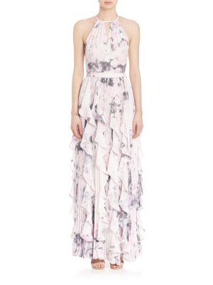 Liza Floral Halter Dress