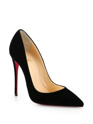 So Kate Suede Point-Toe Pumps