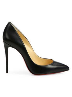 Pigalle Follies 100 Leather Point Toe Pumps