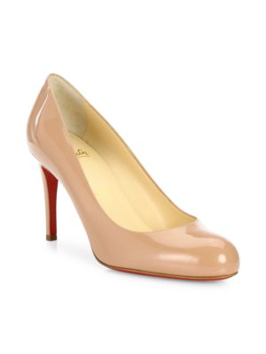 Simple 85 Patent Leather Pumps