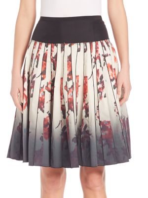 marc jacobs female 218263 dipdyed floral print skirt