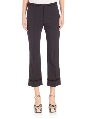 marc jacobs female 188971 cropped bowie pant
