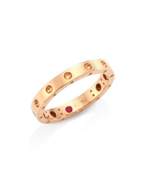Pois Moi 18K Rose Gold Band Ring