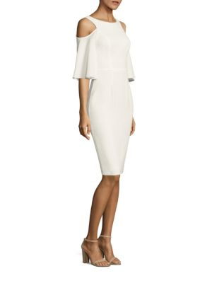 Adara Cold Shoulder Sheath Dress