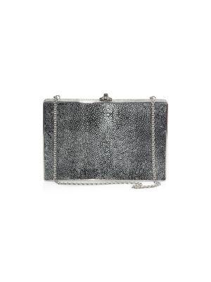 Ridged Rectangle Stingray Clutch