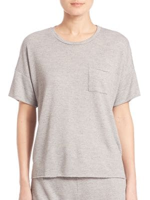 Heathered French Terry Tee