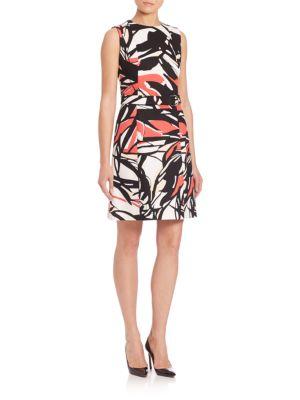 Diganira1 A-Line Dress by BOSS