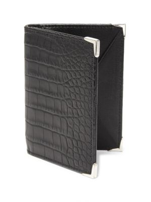 STINGHD CrocHD Leather Wallet