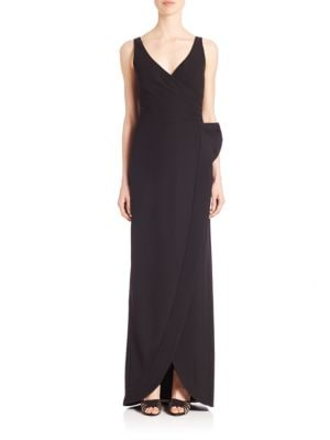 Techno Cady Wrap Gown