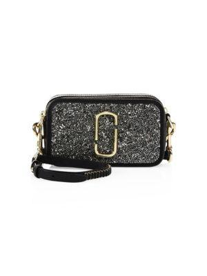 Snapshot Double Take Small Glitter Camera Bag