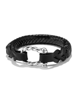 Maritime Woven Leather Bracelet