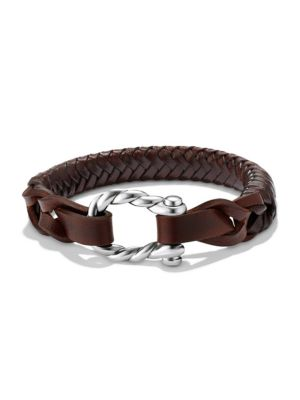Maritime Woven Leather Bracelet