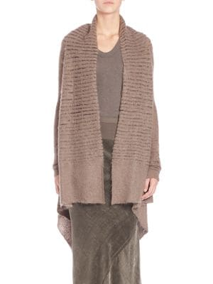 Wool Open-Front Wrap