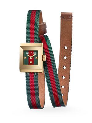 G-Frame Wrap Strap Watch
