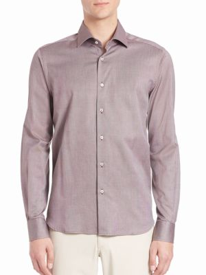 COLLECTION Buttoned Cotton Shirt