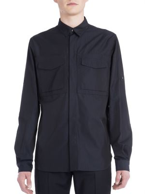 Thermal Bond Pocket Cotton Shirt