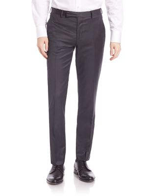 Slim-Fit Soho Suiting Wool Trousers