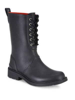 Ansel Lace-Up Rain Boots