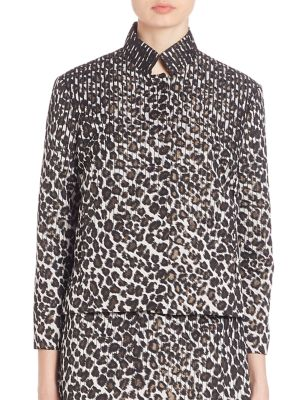 Jindra Leopard Jacket by Creatures of the Wind