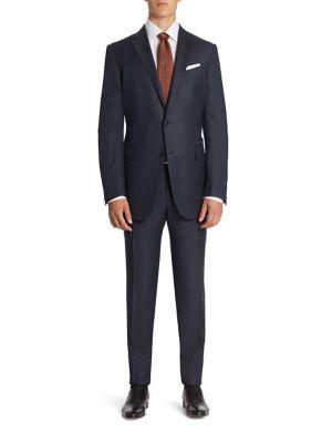 Striped Wool Suit