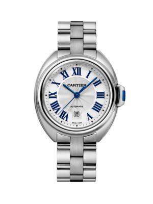 Clé de Cartier Stainless Steel Bracelet Watch/31MM