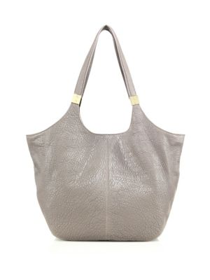 Cynnie Leather Shopper