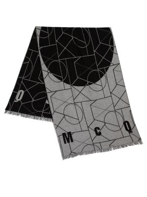 Geometric Print Angle Scarf