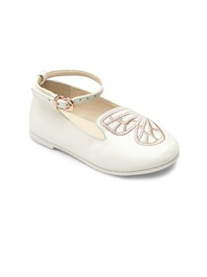 Baby's, Toddler's & Kid's Mini Bibi Butterfly Leather Flats