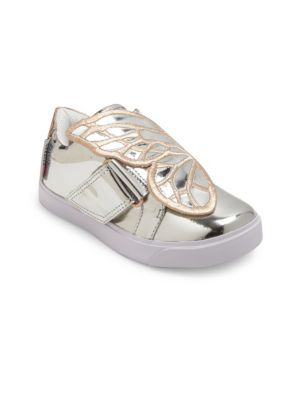 Baby's, Toddler's & Kid's Mini Bibi Low-Top Leather Sneakers