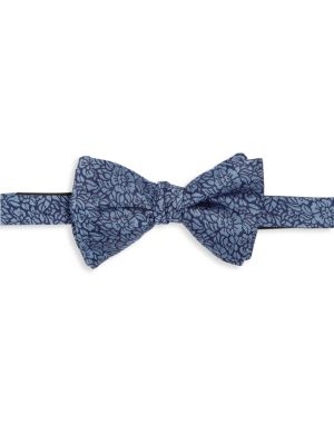 Textured Silk Bow Tie
