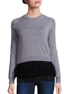 Two-Piece Wool Sweater