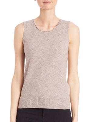 COLLECTION Sleeveless Cashmere Shell by Saks Fifth Avenue