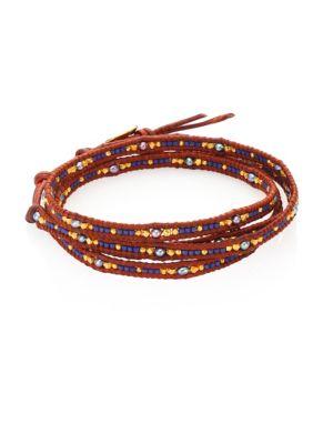 Japanese Seed Bead Wrap Bracelet