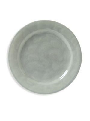 Puro Crackle Glaze Salad and Dessert Plate