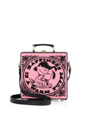 OLYMPIA LE-TAN Happiness Embroidered Shoulder Bag