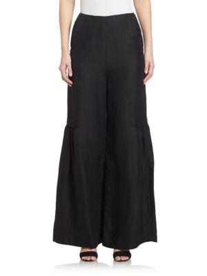 Paura Wide-Leg Pants plus size,  plus size fashion plus size appare