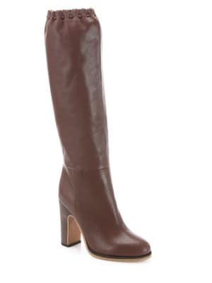 Jane Tall Leather Boots