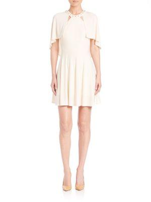 Studded Cape Dress