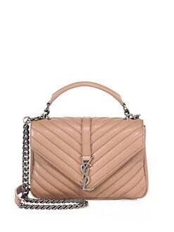 yves saint laurent belle du jour patent-leather clutch - Saint Laurent | Handbags - Handbags - Saks.com
