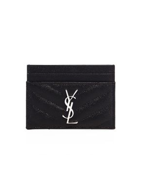 Monogram Matelassé Leather Card Case